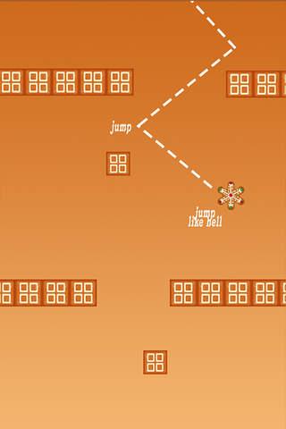 Jumpy Gingerbread - Make It Jump! screenshot 1