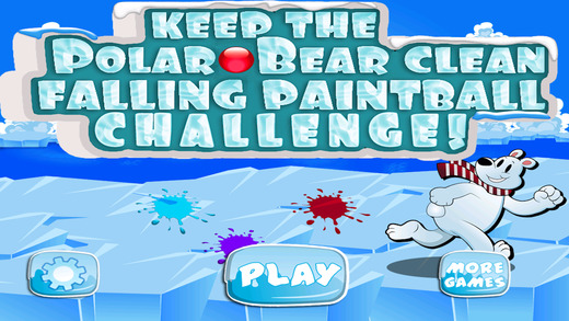 Keep the Polar Bear Clean Falling Paintball Challenge PRO