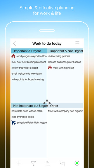 Priority Matrix for iPhone - Effective Task Management for Work and Life