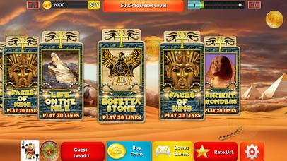 Screenshot 1 Слоты — Way короля Тута: Фараон Нила казино