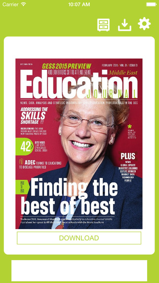 Education Journal Middle East