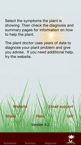 The Plant Doctor iPhone Screenshot 4