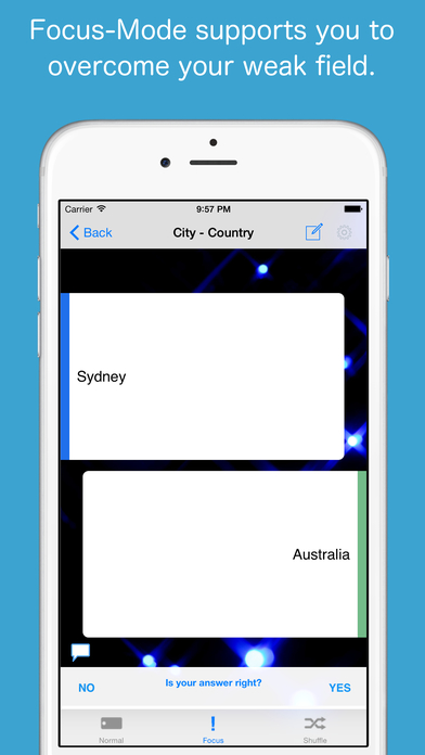 FlashcardBox iPhone Screenshot 3
