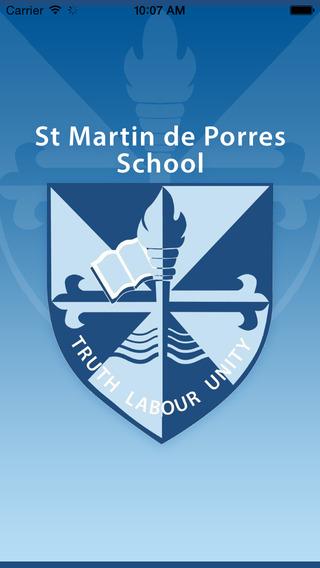 St Martin de Porres - Skoolbag