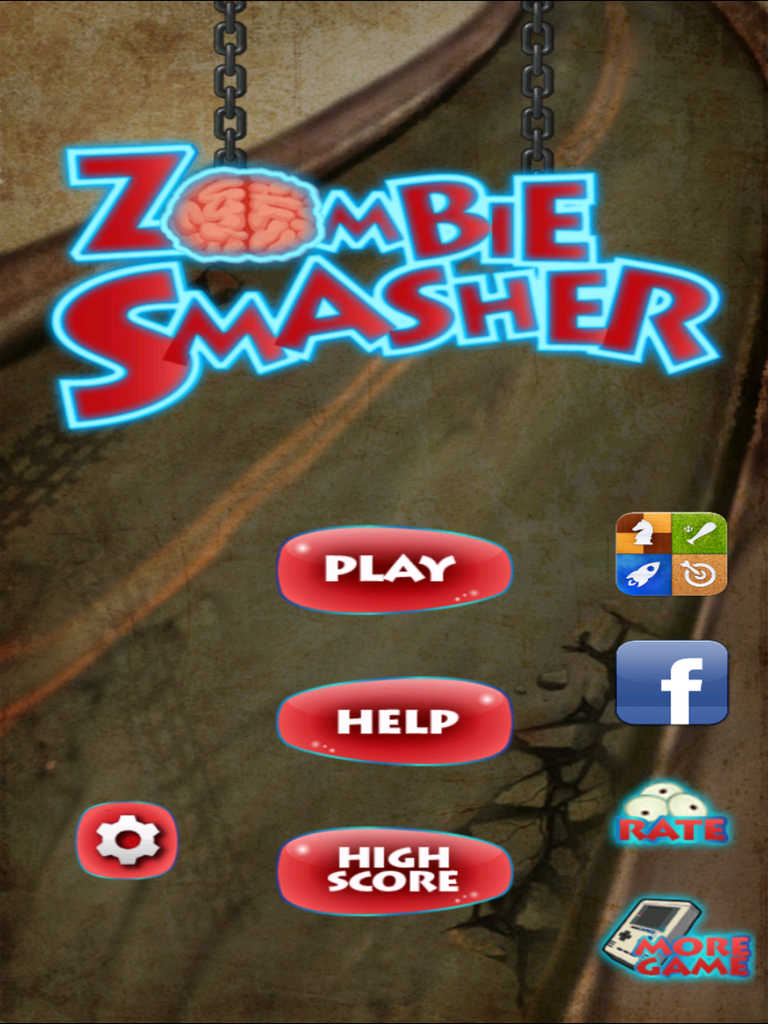 Zombie Smasher now available on Iphone and Ipod