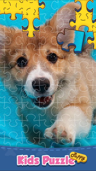 Puppy Puzzle - Jigsaw Game