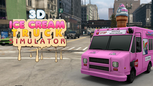 Ice Cream Truck Simulator 3D - fun filled crazy icecream truck simulation and parking game for drive
