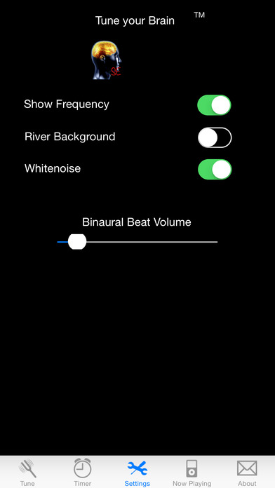 iBrainWave SE - Binaural Beats and White Noise iPhone Screenshot 2