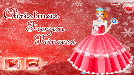 Christmas Frozen Princess Dress Up