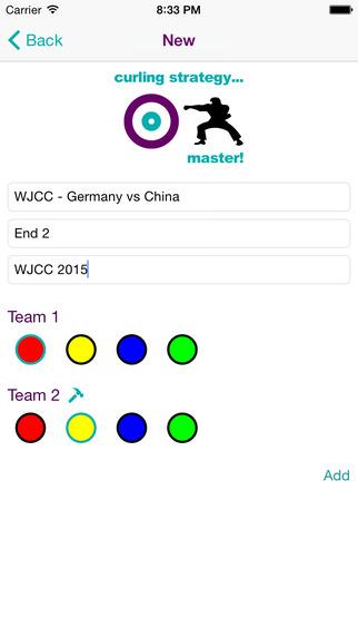 Curling Strategy Board