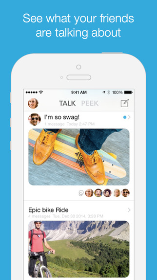 Swim - Social Messaging