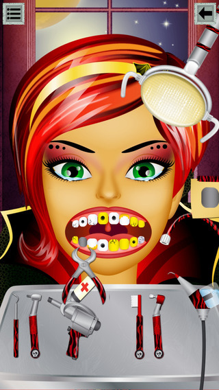Amazing High School Monster Dentist: Rotten Teeth Treatment Game for Kids