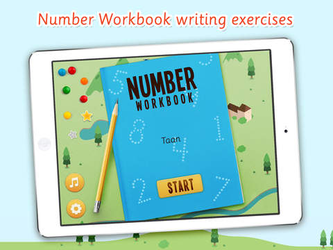 Number Workbook: Learn to write numbers from 0 - 20 for Toddlers and children