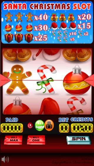 Santa Christmas Vegas style Jackpot Slots Free