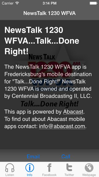 NewsTalk 1230 WFVA...Talk...Done Right