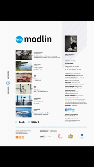 Hello Modlin Warsaw Airport Magazine