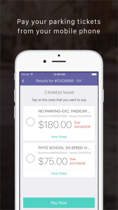 Speeding Ticket App >> App Shopper: TicketHero - Pay New York Parking Tickets (Utilities)