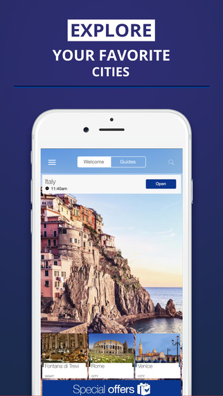 Italy - your travel guide with offline maps from tripwolf guide for sights tours and hotels in Rome
