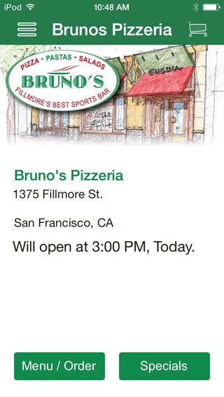 Bruno's Pizzeria Sports Bar
