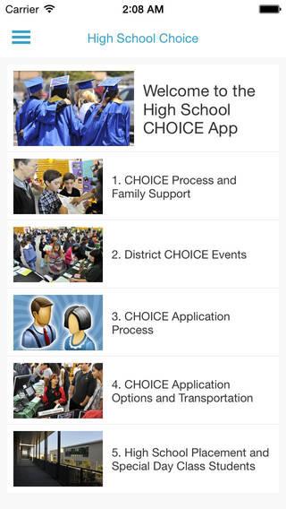 High School Choice