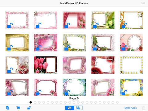 InstaPhoto+ HD Frames