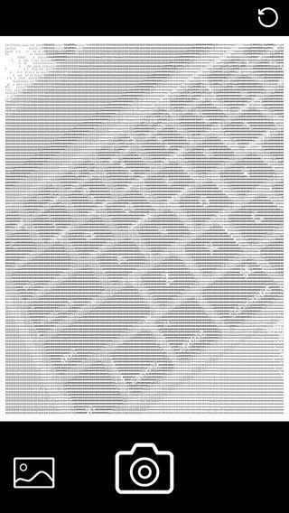 ASCII Art Camera