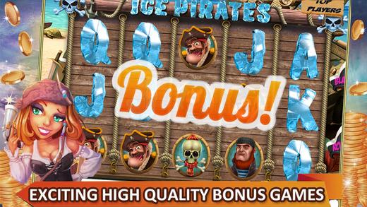 Ice Pirates Slotr Jackpot - Blackjack Roulette Casino Mania