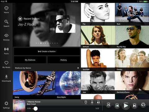 Screenshot 1 Napster