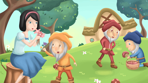 Snow White Free games for girls 7+