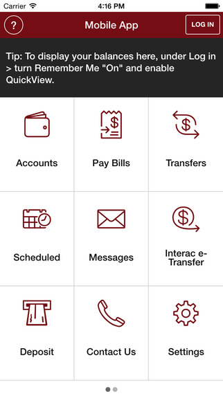 LeRoy Credit Union Limited Mobile App