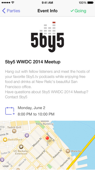 Parties for WWDC