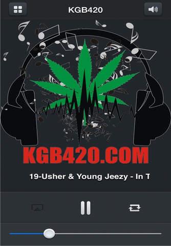 KGB420 Radio screenshot 1