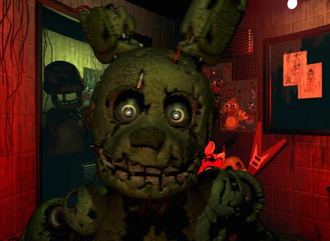 iPad Image of Five Nights at Freddy's 3