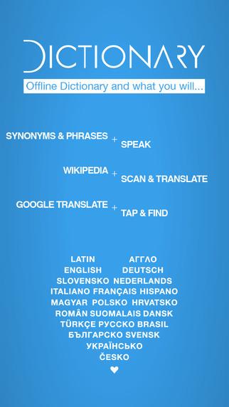 Hungarian English Dictionary and Translator Magyar - angol szótár