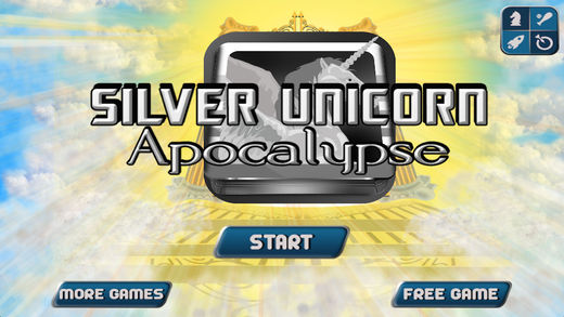 Silver Unicorn Apocalypse Wars - My Epic Dragons Castle Attack Story