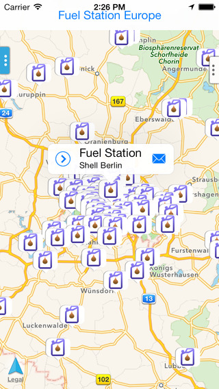 Fuel Station Europe
