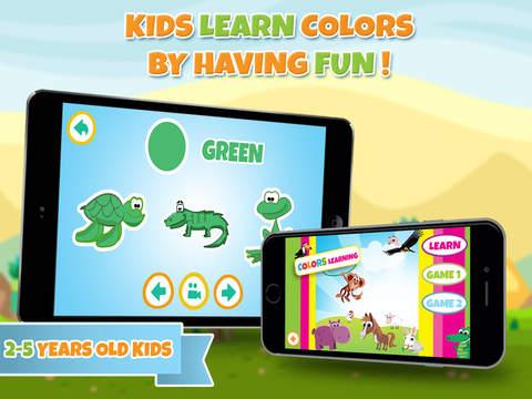 Обучение цвета - образовательная игра для детей в детском саду, малышей и детей на английском языке
