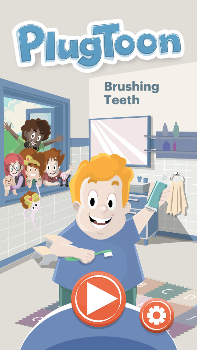 Plugtoon - Brushing teeth