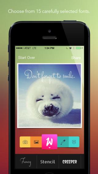 Werds - 向图片添加文字[iPhone]丨反斗限免