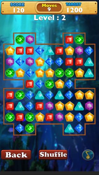 Jewel Blast : Fun World of Jewel Madness Blitz Adventure
