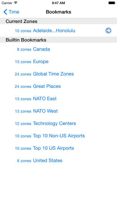 ZonedOut iPhone Screenshot 2