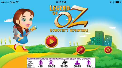 Legend of Oz Pro - Fun Wizards of OZ Game
