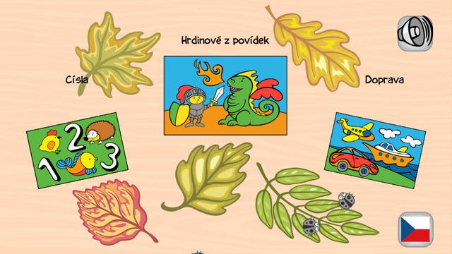 Veselé omalovánky - zábavná vzdělávac vybarvovac hra pro děti plná hrátek s barvami a zvuky