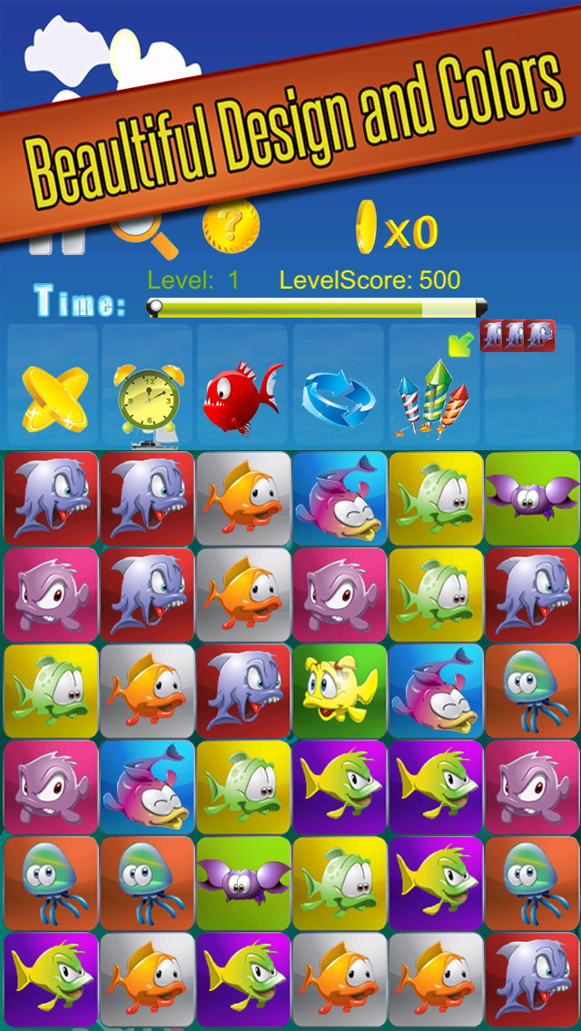 App shopper a fish rescue adventures saga games for Fishing saga games