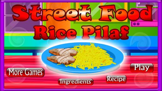 Cook Street Food Rice Pilaf
