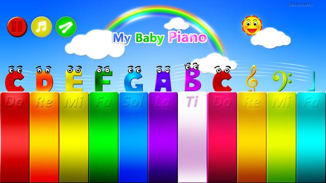 My baby piano free