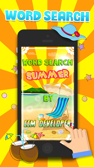 Word Search Summer