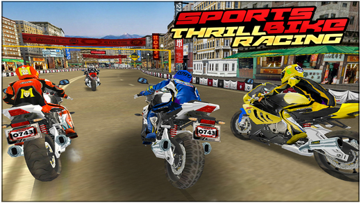 Sports Bike Thrill Racing