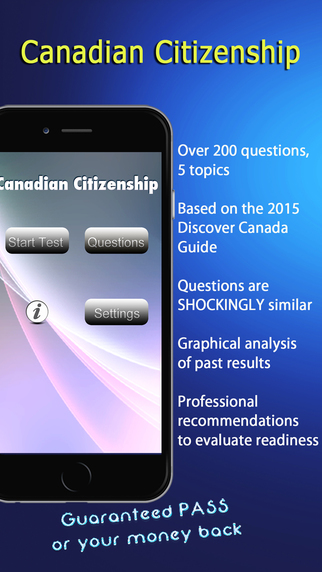 Canada Citizenship Test 2015 - Best Study Guide