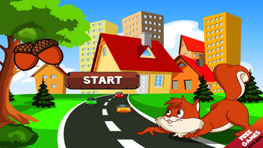 Speedy Squirrel Wall Nut Hunt Race Against Traffic Challenge Pro